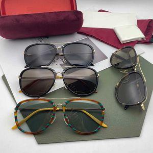 2021 роскошь для солнечного стекла Fram Forde мода круглые женские мужчины DEAGNER MEOPIA RUPY 0662 Солнцезащитные очки с корпусом