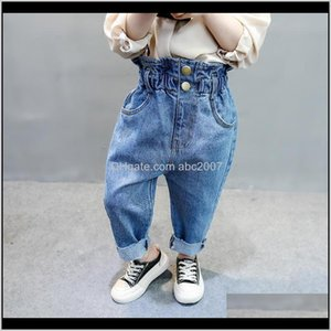 Pants Clothing Baby, & Maternitygirls Kids Autumn Spring Toddler Baby Casual Elastic Waist Jeans Cotton Button Children Trousers Denim Cloth