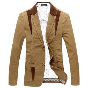 Brand Mens Casual Blazer Designer Fashion maschile giacca giacca uomo masculino slim fit abbigliamento vestement homme m ~ 6xl BF8012 Abiti da uomo Blazer