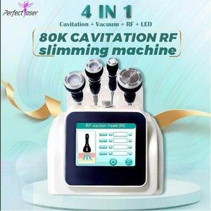 High quality ultrasonic cavitation rf body slimming machine vacuum weight loss beauty equipment 2 years warranty