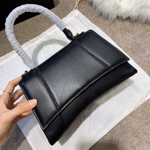 النساء المصممين المصممين حقائب 2021 حقيبة يد عالية كوليتي السيدات حقيبة الكتف التمساح الحبوب الأزياء الرملية رسول كلاسيكي جودة محفظة هدية مربع