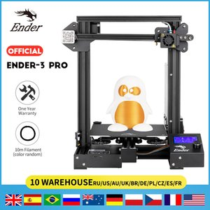 3D Printer Printing Ender-3 ProX Masks Magnetic Build Plate Resume Power Failure Printing KIT Mean Well Power Supply CREALITY 3D