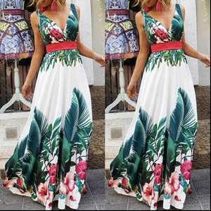 Womens Dress Summer Women Ever Pretty Long Deep V neck Maxi Dresses Party Prom Evening Gown christmas Girls