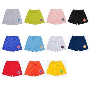 Eric Emanuel EE Basic Mens Shorts Designer York City Skyline Skyline Sweatpants Curto Fanshion Men's Summer Gym Workout Respirável 11 Cores