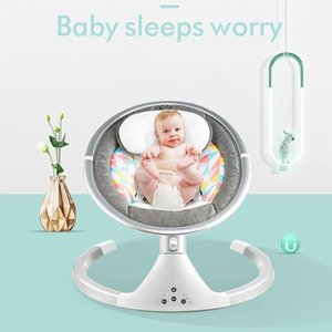 Multifunctional baby cradle reclining chair lazy comfort chair non-electric baby coaxing chair for newborns