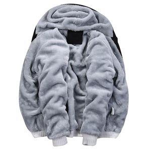 Men's Hoodies & Sweatshirts 2021 Winter Thickened Plush Warm Sweater Suit Camouflage Sportswear Large Size