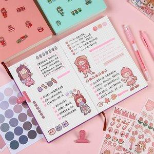 Kawaii Grade Bonito Notebooks Revistas NotePad Livro de Orçamento Macio Capa Agenda Planner Diário Papelaria Coreano Escola Escola Suprimentos Notas
