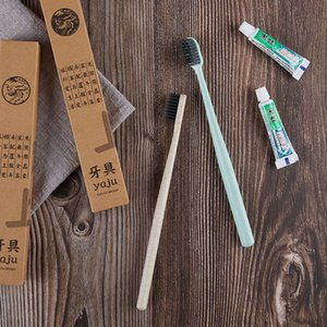 & B hotel disposable toothwash degradable toothbrush toothpaste two in one set