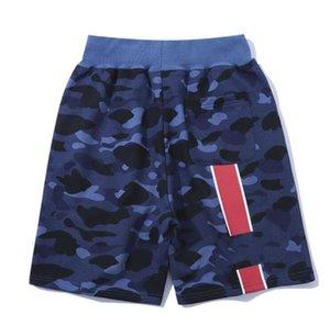 망 디자이너 편지가있는 짧은 바지 여름 남성 트랙 바지 조깅 스웨트 팬츠 패션 Drawstring Stretchy Jogger 의류 M-2XL