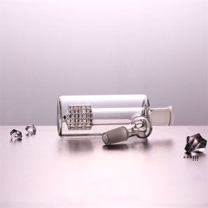 Glass Ash Catcher 14mm 18mm 4.5 Inch Mini Glass Bong Ash Catchers Thick Pyrex Clear Bubbler Ashcatcher 45 90 Degree EWA4826
