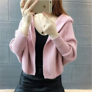 Spring Women Cardigan Short Loose Outwear Casual Long Sleeves Warm Top US Eur Style Outcoat Velvet Coat Clothing