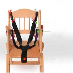 Stroller Parts & Accessories 5 Point 360 Degree Rotating Hook Baby Seat Belts Harness Nylon Safe Belt High Chair Black