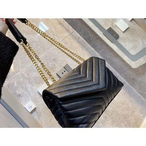 النساء المصممين الفموي رئيس إغلاق ديونيسويز قماش جلد طبيعي الثقيلة سلسلة رفرف أعلى جودة حقيبة الكتف 25-17 سنتيمتر