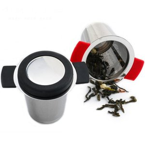 Net infusion device can be reused stainless steel strainer basket loose tea soaking herb filter for mug teapot tools SN2008 4ZTM