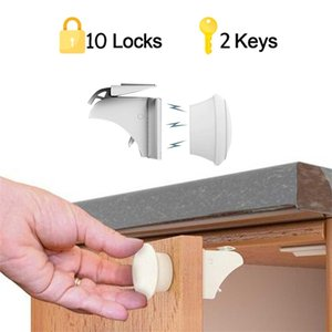Magnetic Child Lock Children Protection Baby Safety Drawer Cabinet Door Limiter Security s 210903