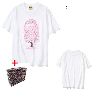 Apes Men's T Shirt Letter Printed Women's T-Shirts Casual Summer Breathable Short Sleeve Hip Hop Street Tee Bring tote bag 0201