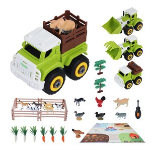 Tumama Farm Educational Park Toy Realistic Farmer Life Baby s With Play Mat Car Gift Set For Boys and Girls