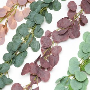 Dense Leaf Artificial Flowers Garland Faux Silk Vines Handmade Garlands Greenery Wedding Decorative Flower DB706