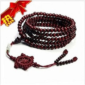 Taobao 21ss imitation sandalwood 216 Beads Bracelet men's and women's bracelet accessories
