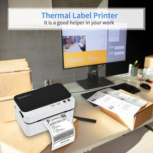 Printers Portable Label Printer High Speed USB Port Direct Thermal Maker Sticker Support 30-85mm Paper Width