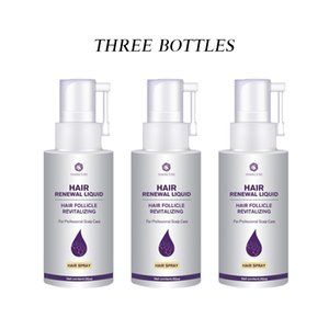 3Pcs Hair Rapid Growth Spray Treatment Hair Loss Natural Herbal Health Hair Growth Longer and Thicker Care ProductsScouts