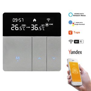 16A 3A Wifi Thermostat Water Gas Boiler Temperature Controller Under Floor Electric Heating Temperature Regulator