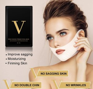 V Line Mask 4d Face Lifting Miracle V-shaped Slimming Masks Double Chin Reducer Lift Patch Firming Tool