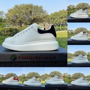 2021 Scarpe da donna Sneakers Bianco Nero Pelle scamosciata Scarpe da ginnastica da uomo di alta qualità Appartamenti Piattaforma Bottom Mocassini casual Espadrillas oversize