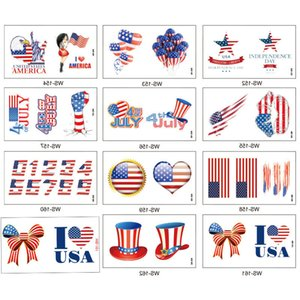 Independence National Day Arm Face Sticker Body US Flag Tattoos MS 3000pcs