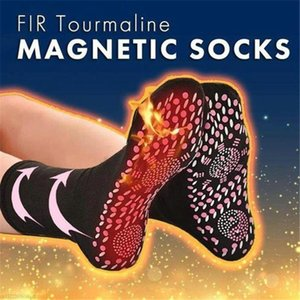 2020 Hot Tourmaline Magnetic Socks Self-Heating Magnetic Therapy Massage Socks Dropshipping Tourmaline Comfortable Breathable#y3