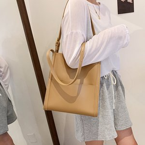 HBP fashion lady shopping bag large capacity all-match canvas shoulder bag trendy student school totes bags-1