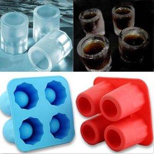Cup в форме силиконового льда Кубик изготовитель стеклянного замораживания мороженое кремовые инструменты бар Кичень аксессуары для выпечки формы