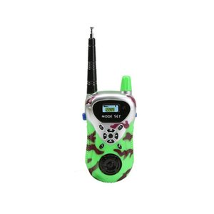 2pcs Walkie Talkie Phone Kids Toys Electronic Gadgets Ninos For Children Educational Play Parent-Child Interaction Game
