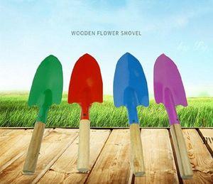 Mini Gardening Shovel Colorful Metal Small Shovel Garden Spade Hardware Tools Digging Garden Tools Kids Spade Tool AHA5304
