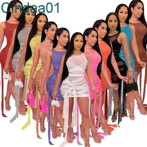 Mujeres One Piece Dress Designer Tendencia Manga Larga Vestidos Versátil Escote Zipper Sexy Slim Wrap Wrap Falda Otoño Invierno Nuevo