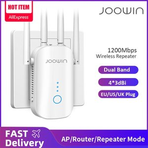 1200Mbps Dual Band 2.4G&5GHz Wireless Extender 802.11ac Wifi Repeater Powerful Wi-Fi Router Long Range Wlan WiFi Amplifier 210918
