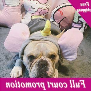 Súper lindo Elefante Dumbo Band Fighting Big Dogs Headwee Adornos de pelo Accesorios divertidos Suministros Disfraces Ropa para perros
