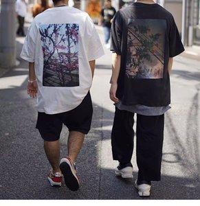 21S Designer Luxurys Мужские футболки с коротким рукавом круглые шеи блузки толстовка летние хип-хоп рукава писем хлопчатобумажные мужчины женщин размер S-XL