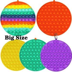 Große Größe Zappeln Blase Sinnes Spielzeug Für Autismus Bedürfnissen Erwachsene Kinder Lustige Anti-Stress-Spielzeug DHL Schnelle Lieferung