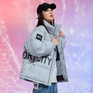 Men's and women's clothingOriginal 2020 Men's Women's and New Down Jacket Fashion Brand Multi Color Loose Dress C2I4