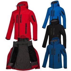 Campeggio da uomo personalizzabile Campeggio Escursionismo Giacca sportiva a vento Giacca a vento Soft Shell Sport Cappotto Sport Appollaia Antivento e respirabile