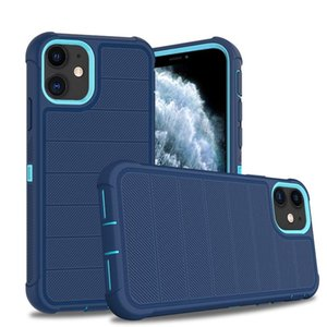 For Iphone 12 Mini Pro Max 11 SE2 2nd Defense Triple Combo Phone Cases Camera Protection Cover