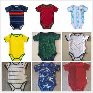 아기 키트 축구 유니폼 이탈리아 스페인 일본 Mecixo 아르헨티나 키즈 정장 2021 2022 월 소년 자식 축구 셔츠 최고 품질을 설정합니다