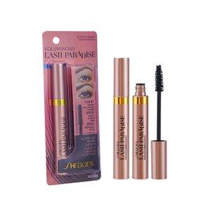 SHEDOES waterproof black slim Mascara with long curl and dense 10g eye makeup for a natural, long-lasting No shading eyelash Cosmetics