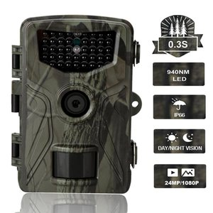 Camcorders Hunting Trail Camera Wildlife Night Vision Cameras HC804A 1080P 20MP Wild Wireless Tracking Surveillance Cam Po Trap