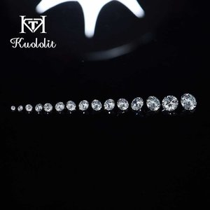 Lab Grown Diamonds Loose Stone For Customize Round 1.4-2.9MM Excellent Cut DEF VS HPHT for Jewelry Making DIY 210706