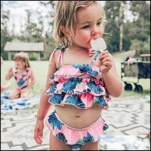 Childrens Swimming Equipment Sports & Outdoorschildrens Swimwear Children Kids Girls Bikini Beach Suspender Swimsuit+Shorts Set Outfit Bathi