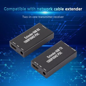 Home Theatre System -CompatibleExtender 1080P 197 Feet Over Single Cat5e Cat6 Ethernet Cable Transmitter + Receiver 24 50 60fs 1080p 108