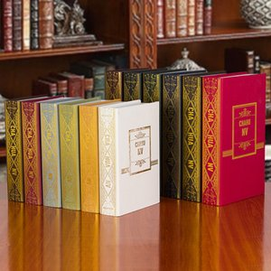 10pcs European style of the ancient book decoration simulation soft decoration decoration photography props book office room