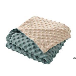 Baby Beanie Blankets Newborn Stroller Sleep Cover Infant Bedding Quilt Swaddling Wrap Toddler Nap Blanket HWE10401